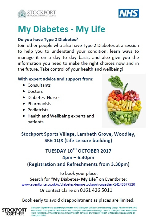 TYPE 2 DIABETES EDUCATION AND ADVICE SESSION