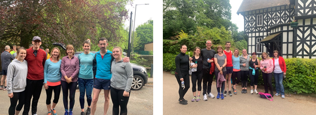 Park Run, before and after